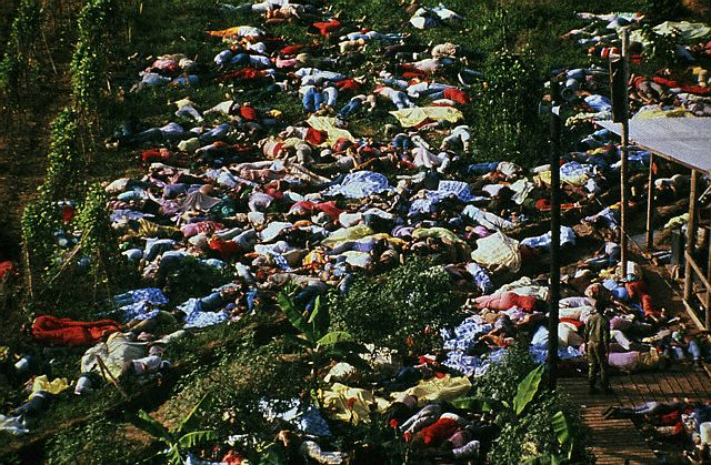 The aftermath of Jonestown