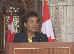 Her Excellency the Right Honourable Michaëlle Jean